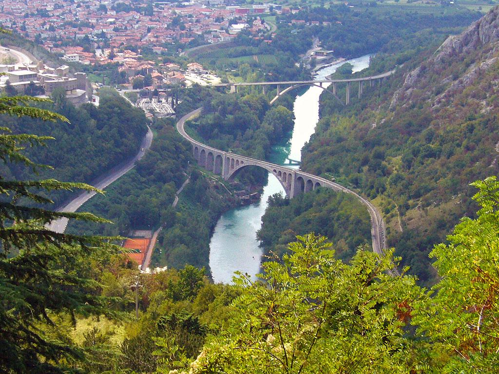 Bei Nova Gorica in Slowenien