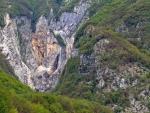 Boka Wasserfall bei Bovec
