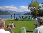 Bleder See (Veldeser See; slowenisch Blejsko jezero)