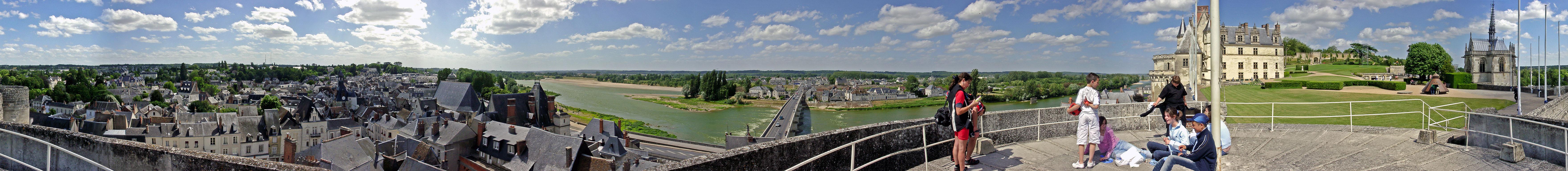 Chateau D'Amboise - Panorama