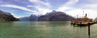 Brunnen am Urner See - Schweiz