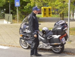 Kaffeepause an der deutsch-französischen Grenze