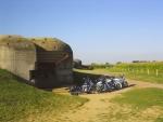 Longues sur Mer - Batterie der 4 Geschütze