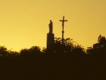 Sonnenaufgang über Arromanches-Les-Bains