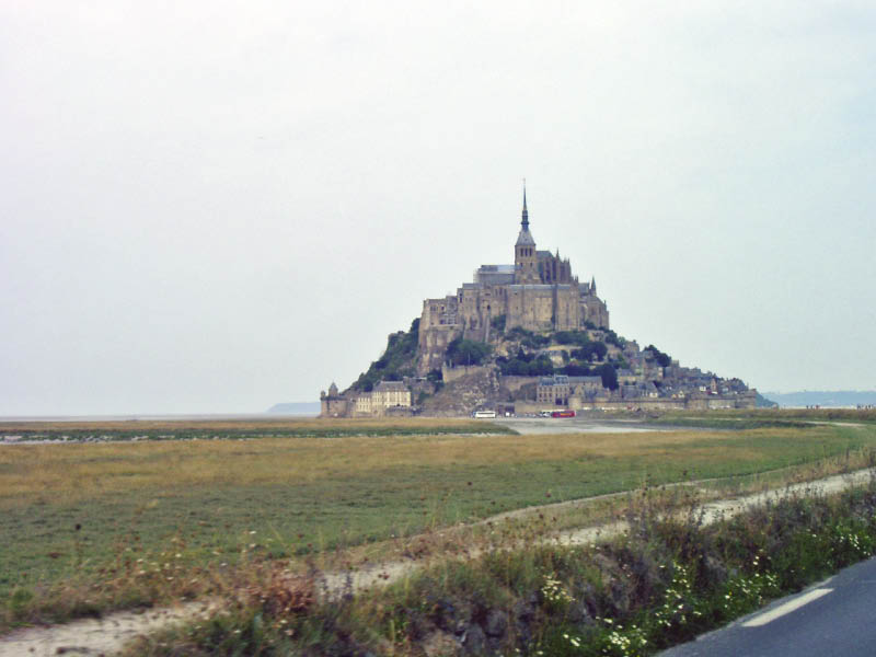 Mt. St. Michel - Der Klosterberg vor der Küste