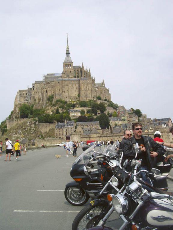 Mt. St. Michel - dser Parkplatz ist inzwischen weg