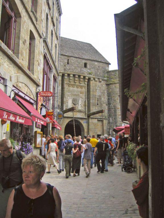 Mt. St. Michel - Touristenmassen