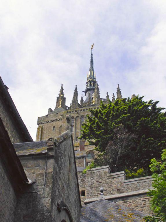 Mt. St. Michel - Do oben muss dann Eintritt gezahlt werden