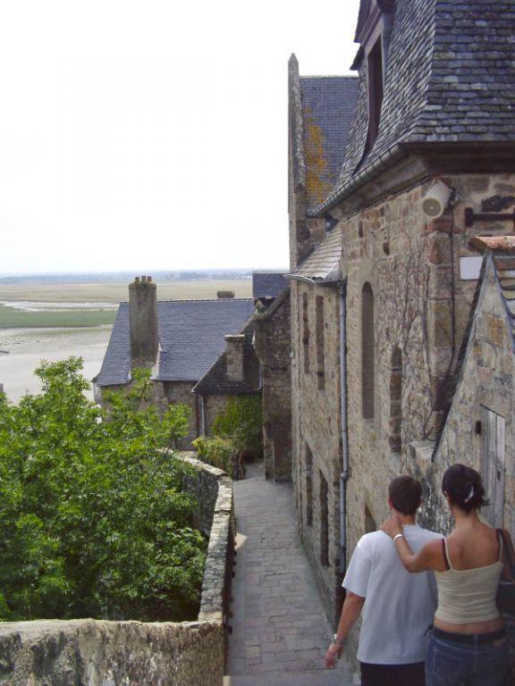 Mt. St. Michel - Aussicht