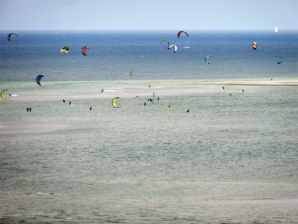 Kitesurfen vor Laboe