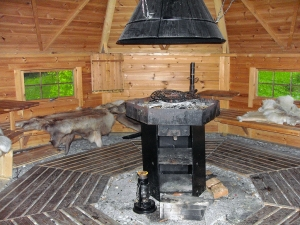Trysil Hyttegrend - Grillhütte am Fluss