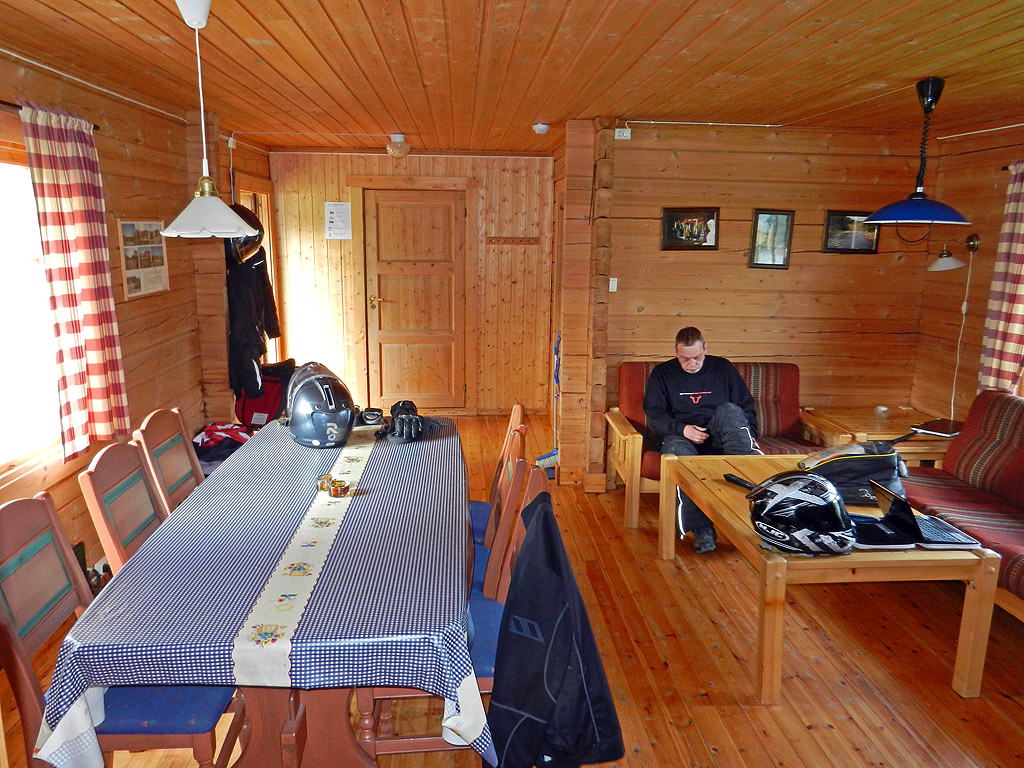 Harran Camping Hütte Wohnbereich
