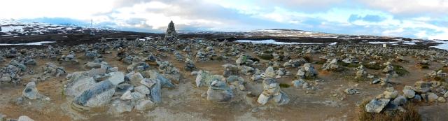 Polarkreis Steinmännchen