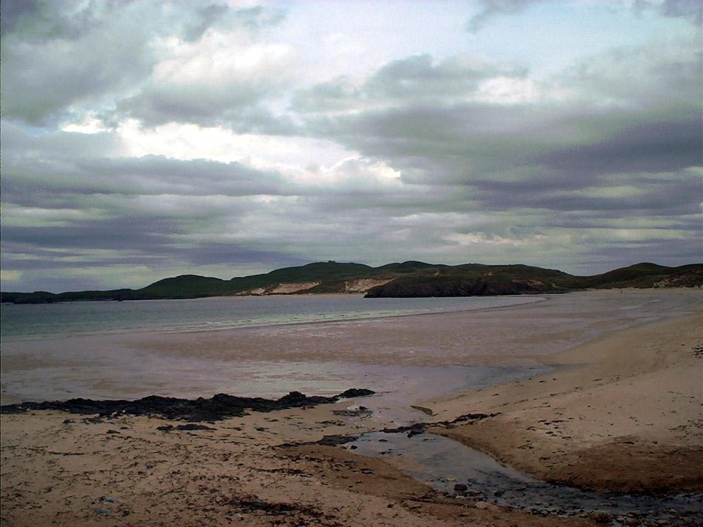 Strand an der Balnakei Bay