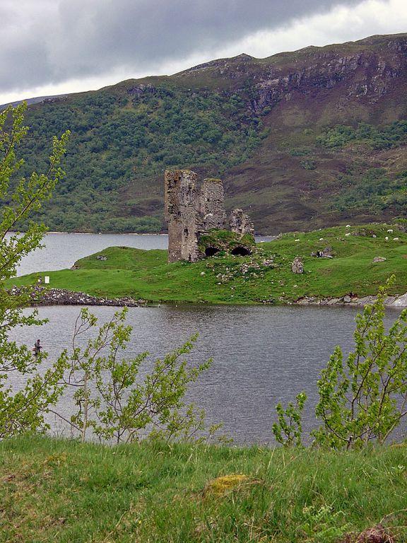 Ardvreck Castle am Loch Assynt
