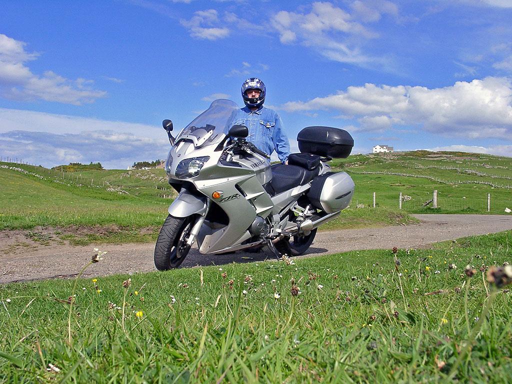 Yamaha FJR 1300 in Bettyhill