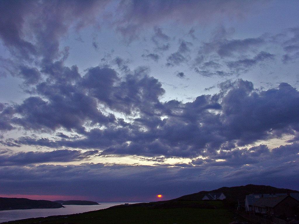 Sonnenuntergang bei Bettyhill