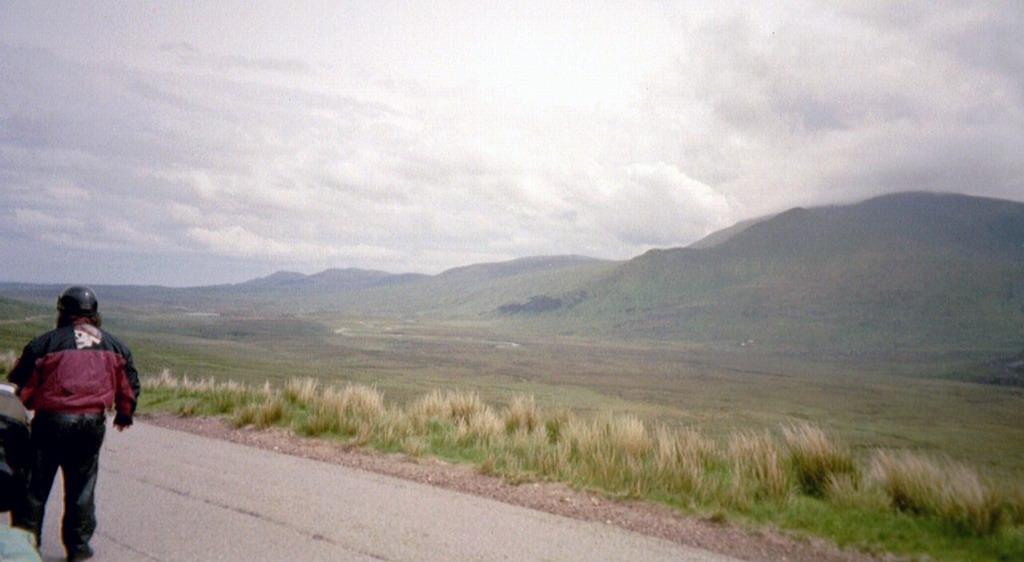 Einsames Tal in den Northern Highlands