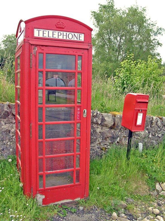 Telefonzelle, Kyle of Sutherland