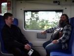 Robert und Michael - auf dem Weg nach Köln
