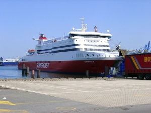 Superfast X in Zeebrugge