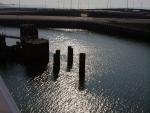 Zeebrugge am Pier