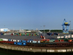 Zeebrugge Hafen Panorama