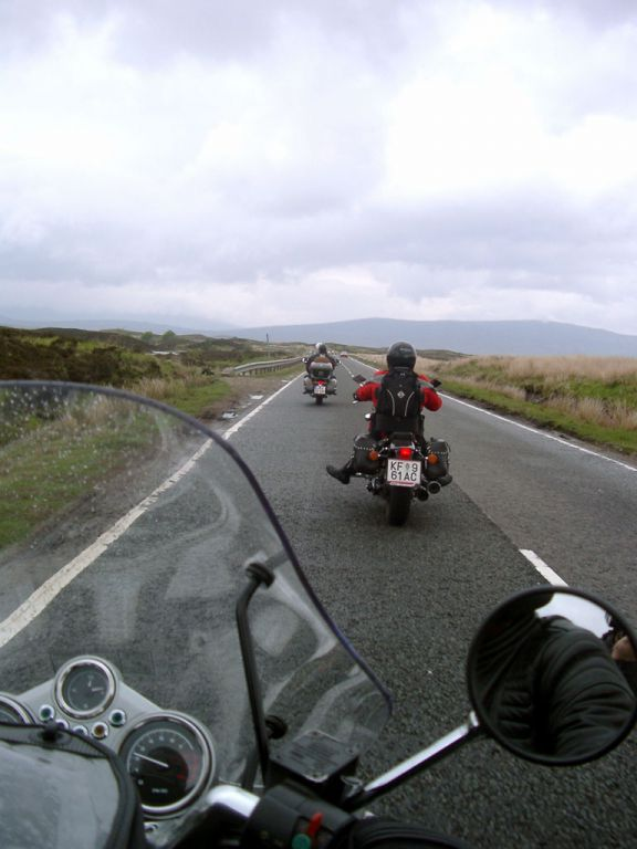 auf dem Weg ins Glen Coe