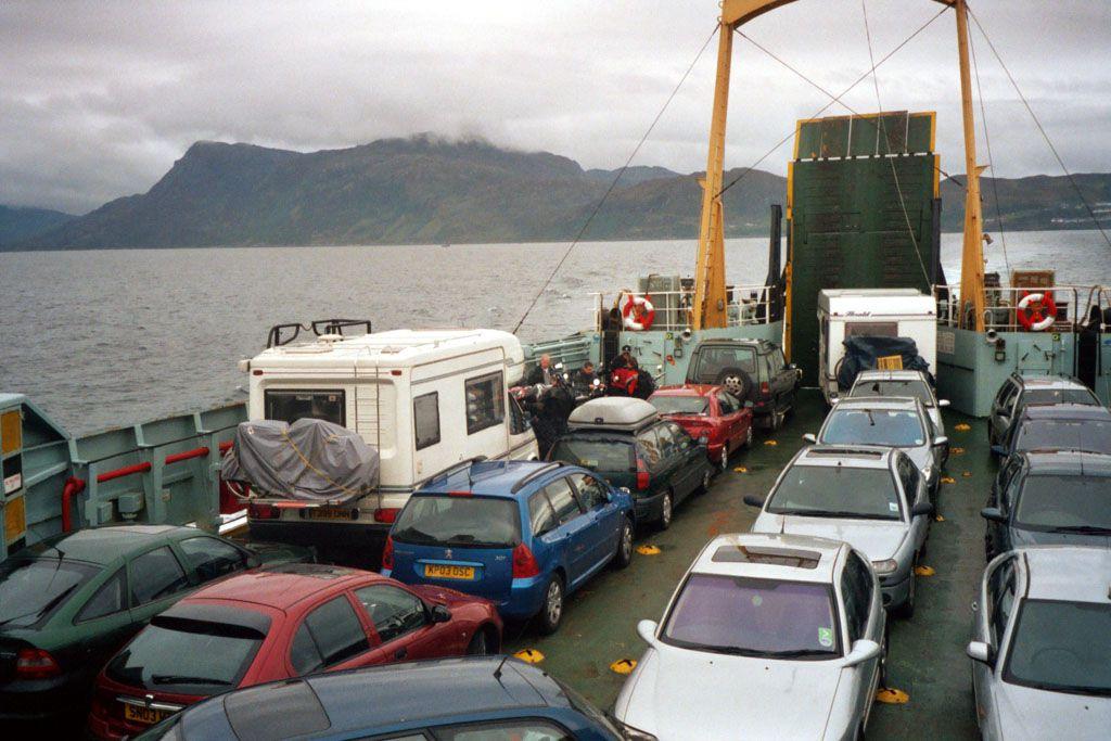 auf der Fähre nach Skye