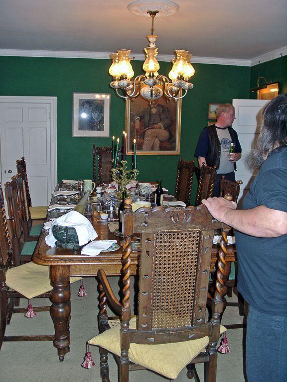 Isle of Skye - Corry Lodge Abendessen