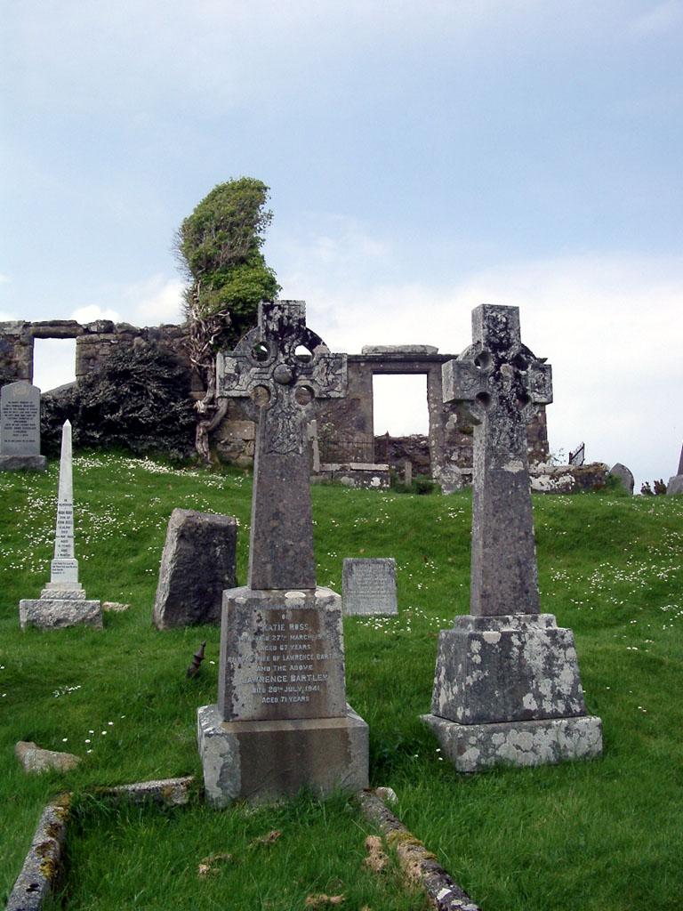 alter Friedhof auf Skye