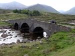 Brücke am River Sligachan
