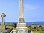 Kilmuir Friedhof Flora Macdonald Monument130 x angesehen