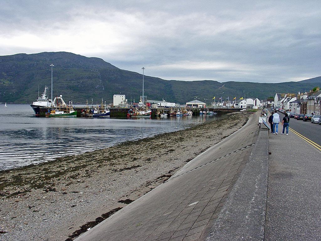 Ullapool Hafen