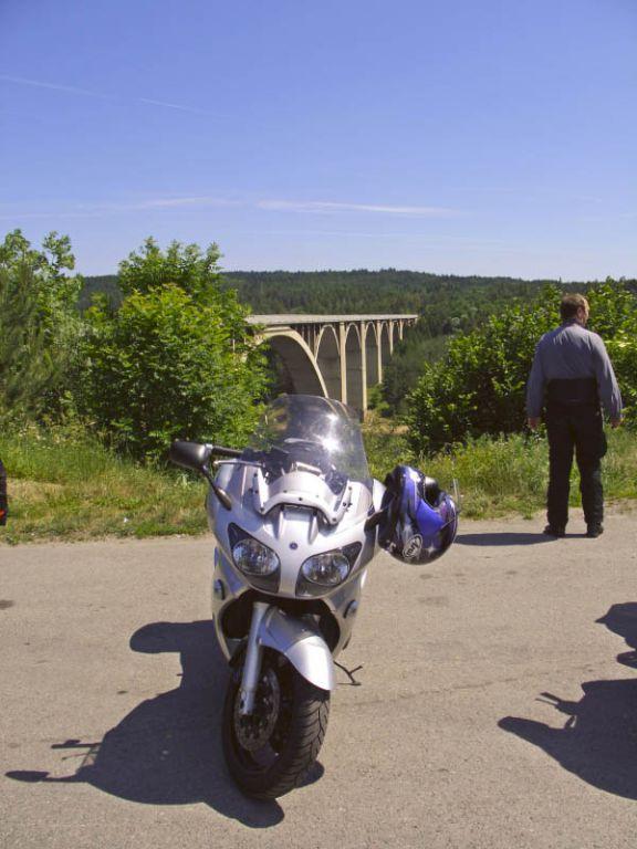 Brücke über die Moldau