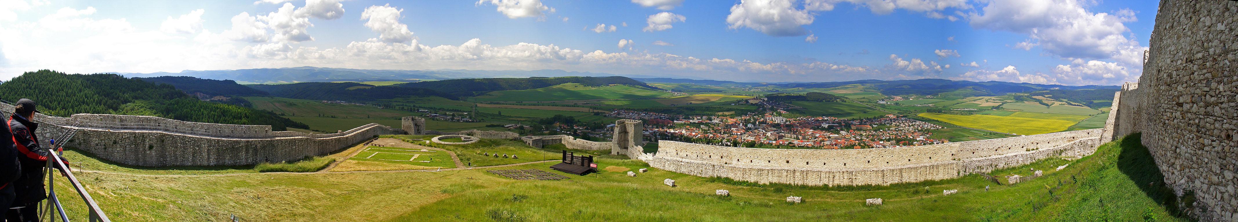 Zipser Burg - Panorama