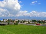 Popgrad mit Blick auf die hohe Tatra