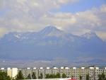 Hohe Tatra von Poprad aus gesehen
