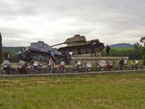 Denkmal zum 2. Weltkrieg bei Bardejov