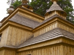 Russisch-Orthodoxe Holzkirche
