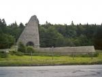 am Dukla Pass - Denkmal zum 1. und 2. Weltkrieg