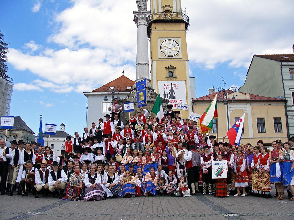 Banska Bystrica feiert 750 Jahre