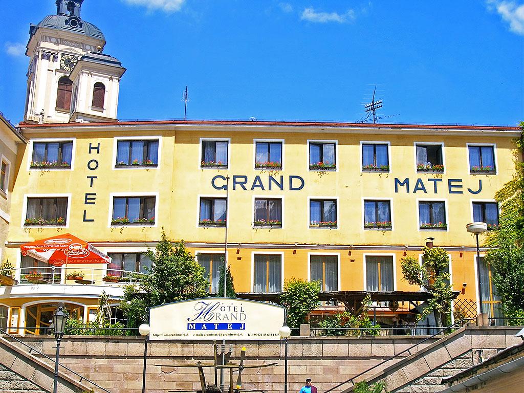 unser Hotel in Banska Stiavnica (SK)