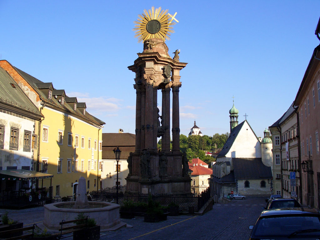 Banska Stiavnica - Die sogenannte Pestsäule