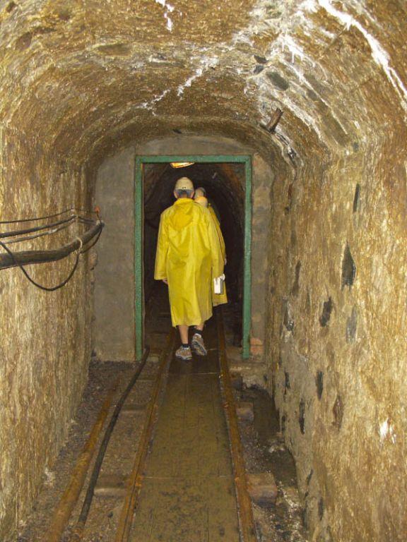 Bergwerksbesuch bei Banska Stiavnica