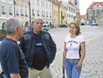 Simon and Monika Newbound in Telc